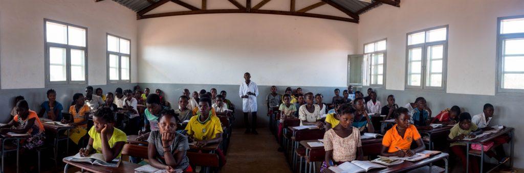 School, Mozambique